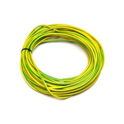 Cable de terre 4 carré vert jaune 100m