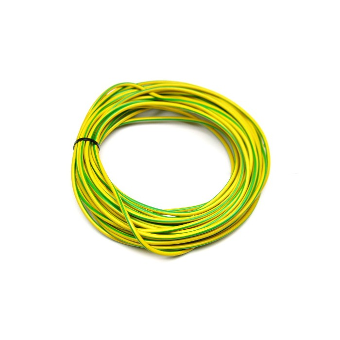 cable de terre 10 carr vert jaune 100m shop energysolar. Black Bedroom Furniture Sets. Home Design Ideas