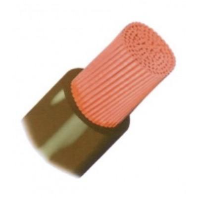 Cable Batteries Souple H07V-K 50 Carré en 5m Rouge